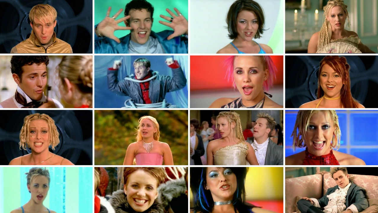 Steps music video montage